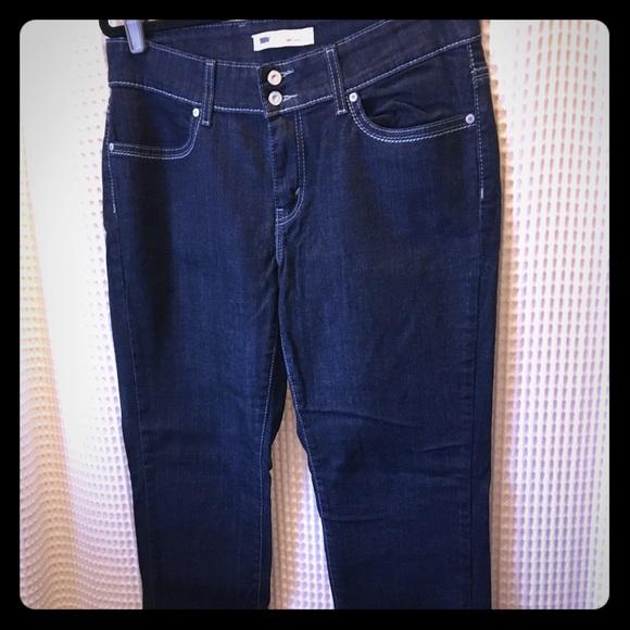 725c4cd0 Levi's Jeans | Levis 529 Curvy Skinny Jean Dark Wash 14 | Poshmark